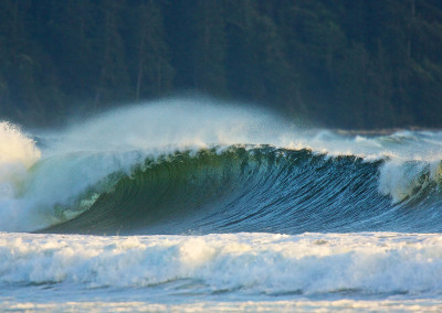 Sweet winter waves. Tofino Winter Surfing, Tofino Winter Storms
