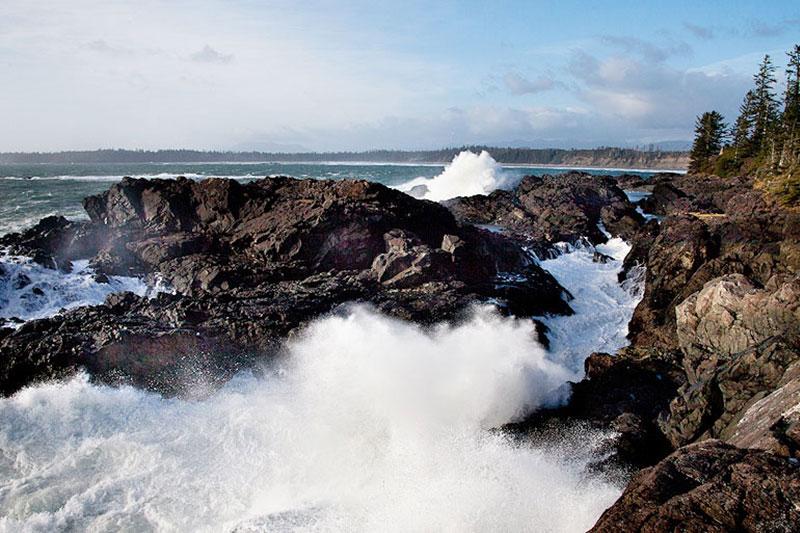 Surge Channels, Tofino Blow Hole, Halfmoon Bay