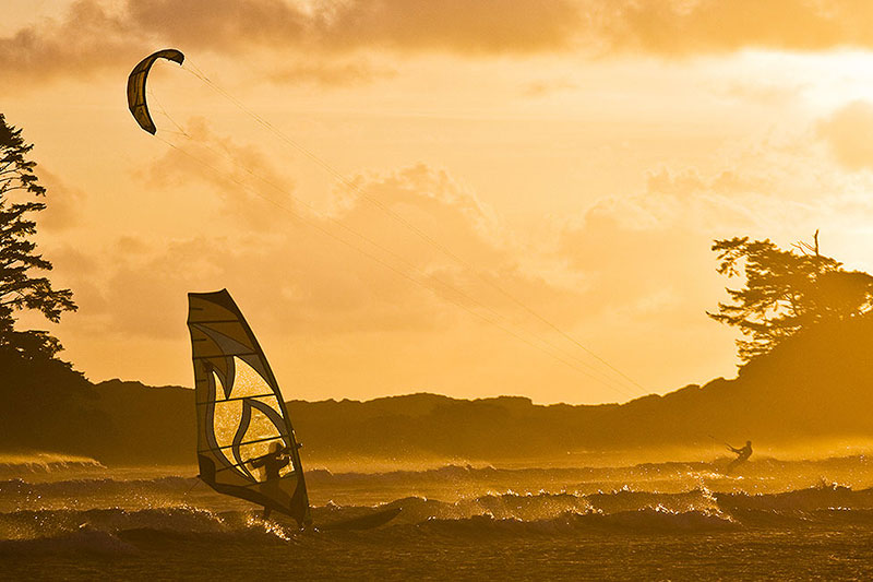Surf. Wind. Boards. Sails. Check.