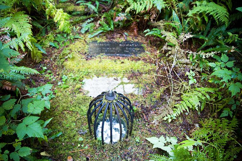 Morpheus Island Cemetery, Tofino, BC