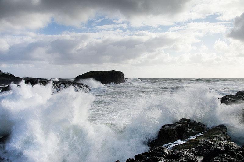 South Beach Tofino Storm-Wtaching