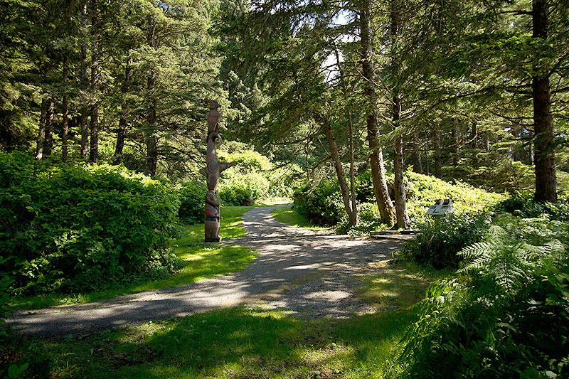 South Beach Trail from Kwistis Centre, Tofino, BC