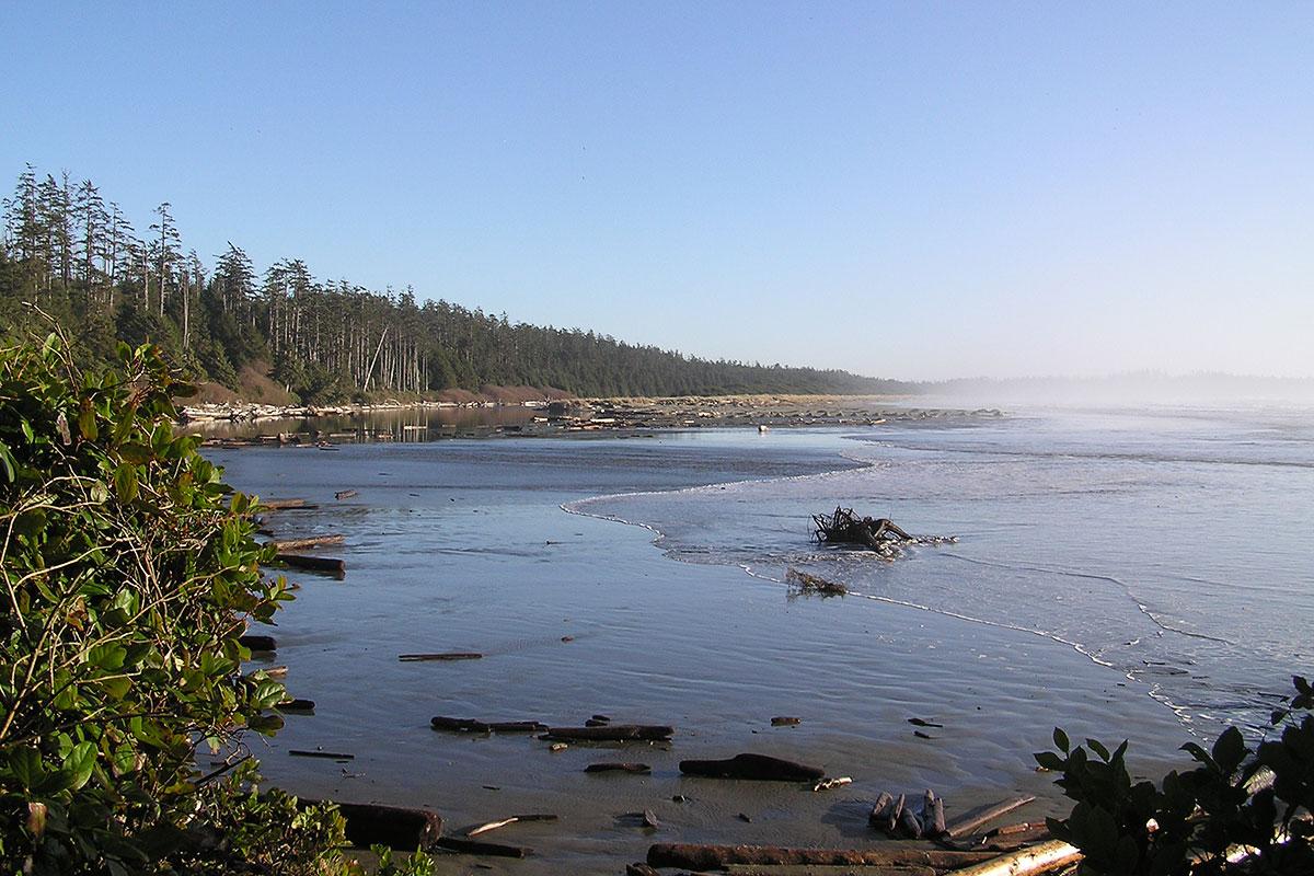 Combers Beach, Pacific Rim National Park, Tofino, BC