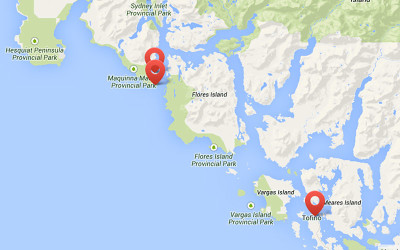 Tofino Hot Springs Map & Info