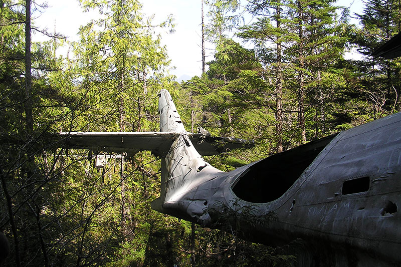 Tofino Plane Crash, WW2, Pacific Rim National Park
