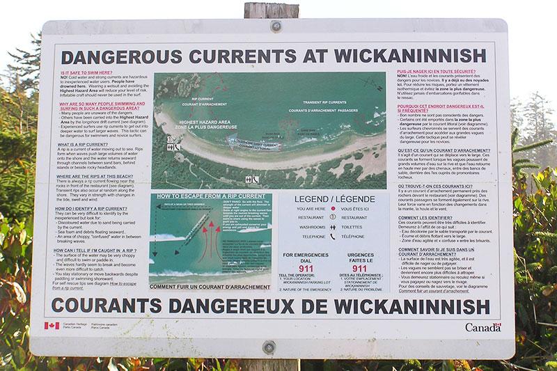 Wickaninnish Beach, Pacific Rim National Park, Tofino, BC