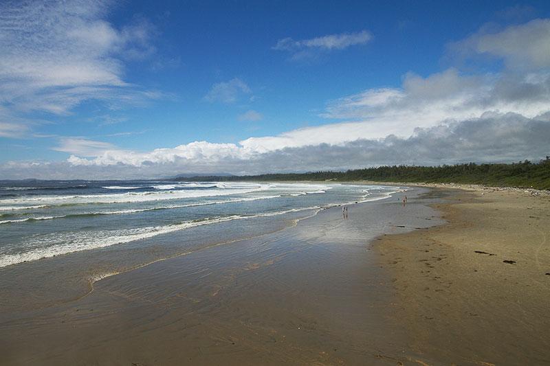 Summer at Wickaninnish Beach, Pacific Rim National Park, Tofino, BC