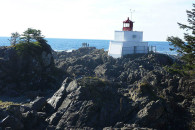 Lighthouse, Wild Pacific Trail, Tofino. Ucluelet, BC