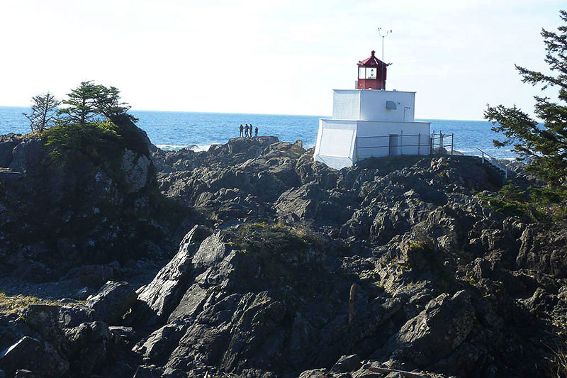 Amphitrite Lighthouse Ucluelet Wild Pacific Trail, Ucluelet, BC, Canada